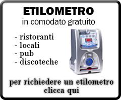 Etilometro in comodato gratuito