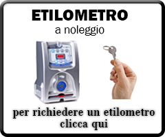 Etilometro a Noleggio